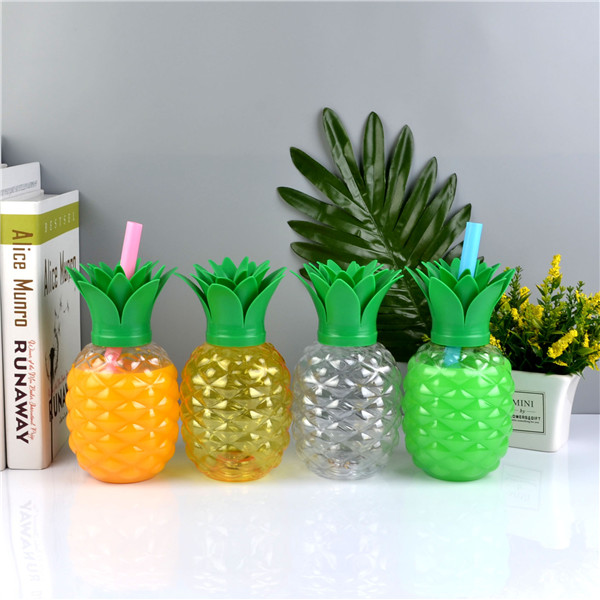 Charmlite New Plastic Pineapple Shape Drinking Cup with LED Funtion 16oz6 (4)