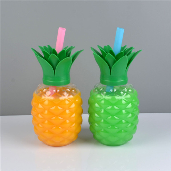Charmlite New Plastic Pineapple Shape Drinking Cup with LED Funtion 16oz6 (3)